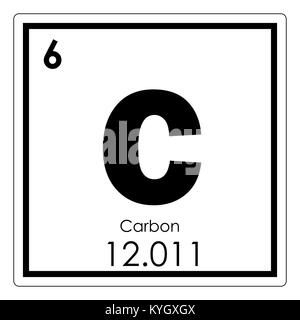 Carbon c chemical element periodic table 3d render stock photo carbon chemical element periodic table science symbol stock photo urtaz Image collections