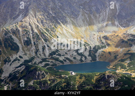 Valley of Five Polish Lakes (Dolina Pieciu Stawów Polskich), Tatra Mountains, Poland - Stock Photo