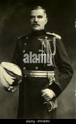Field Marshal Sir William Robert Robertson, 1st Baronet, British Army officer who served as Chief of the Imperial - Stock Photo