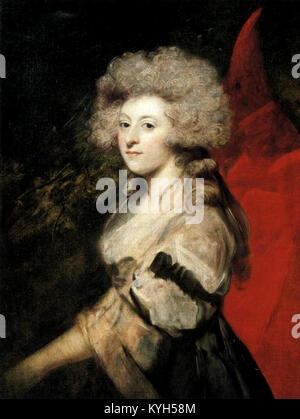 Maria Anne Fitzherbert, longtime companion of the future King George IV - Stock Photo