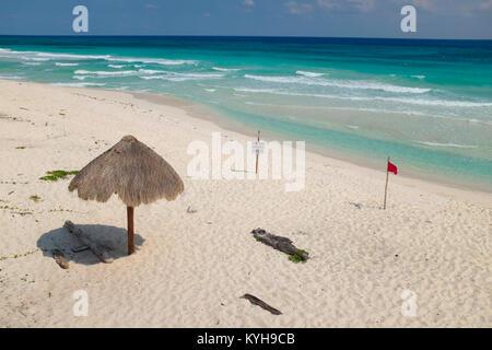 Playa San Martin, Cozumel Mexico. - Stock Photo