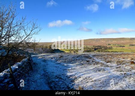Stile to Great Douk Cave - Stock Photo