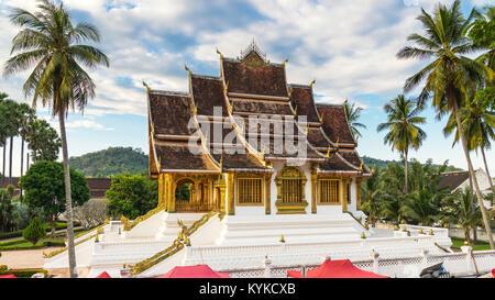 Temple in Royal Palace Museum Luang Prabang, Laos. - Stock Photo