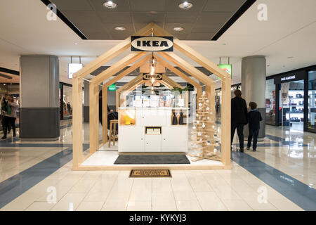 New Ikea stand at La Marina Shopping Centre, Finestrat, Spain. New concept customer consultation and service point - Stock Photo