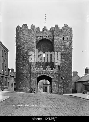 Laurence's Gate, Drogheda, Co Louth 35804945232 o - Stock Photo