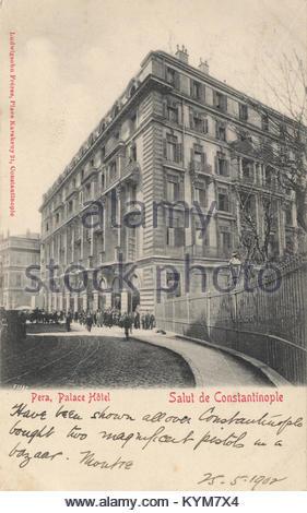 Hotel Pera Palace in Istanbul 33450418905 o - Stock Photo