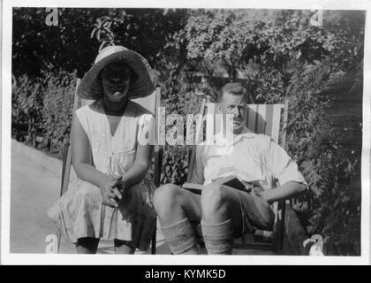 Annie Barbara Clark Callow with EH Callow 3378199623 o - Stock Photo