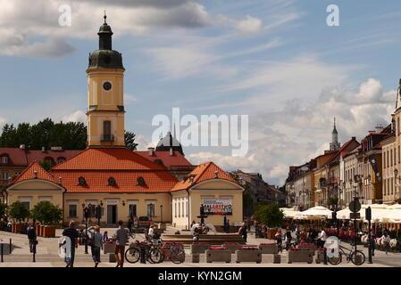 Town hall in Białystok - Stock Photo