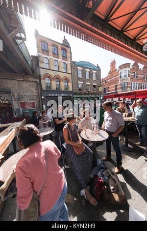 UK, London, Southwark, Borough market. - Stock Photo