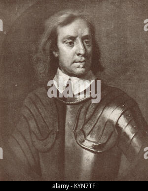 Oliver Cromwell, 1599-1658 - Stock Photo