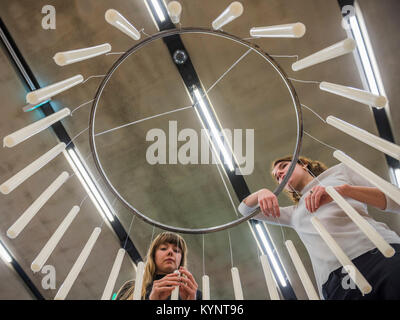 London, UK. 15th Jan, 2018. In the Making by Amanda Hellryd and Florence Laprat - Studio Complex at Tate Modern: - Stock Photo