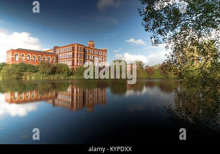 Coppull Factory. Now Coppull Enterprise Centre. Formerly Coppull O Spinning Mill. Lancashire. UK - Stock Photo