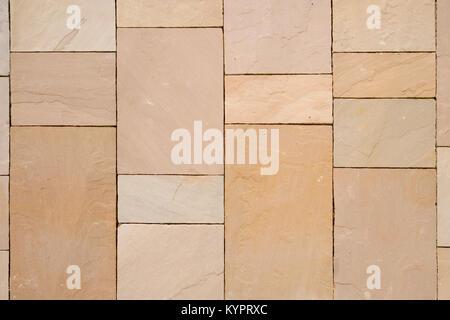 New stone slab pavement pattern - Stock Photo