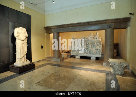 Italy, Rome, Capitoline museums, Musei capitolini, Palazzo dei Conservatori, room of Horti Tauriani and Vettiani, - Stock Photo