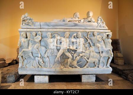 Italy, Rome, Capitoline museums, Musei capitolini, Palazzo dei Conservatori, room of Horti Tauriani and Vettiani, - Stock Photo