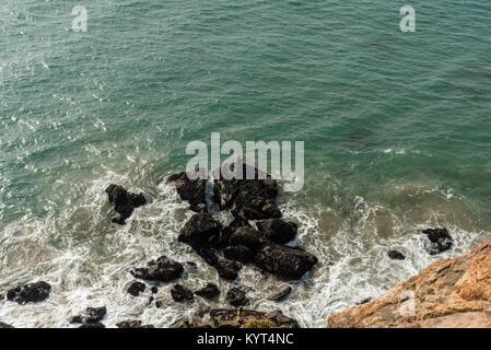 Point Dume vista, Malibu, California - Stock Photo