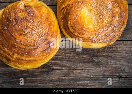 Azerbaijan national pastry, Qogal - Stock Photo
