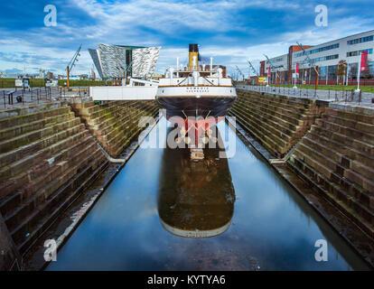 Titanic Quarter Belfast. - Stock Photo