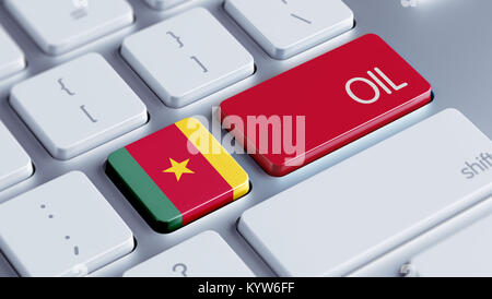 Cameroon High Resolution Keyboard Concept - Stock Photo