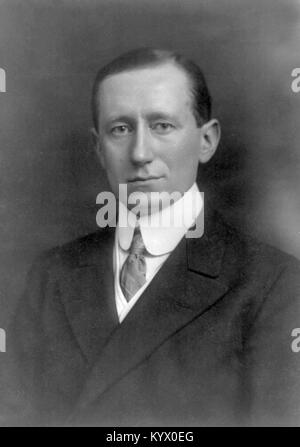 Guglielmo Marconi, 1st Marquis of Marconi, Italian inventor and electrical engineer known for his pioneering work - Stock Photo
