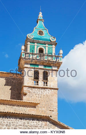 The Carthusian monastery, Valldemossa, Mallorca, Balearic Islands, Spain, Europe - Stock Photo