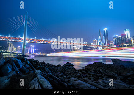 Architectural scenery of Chongqing - Stock Photo