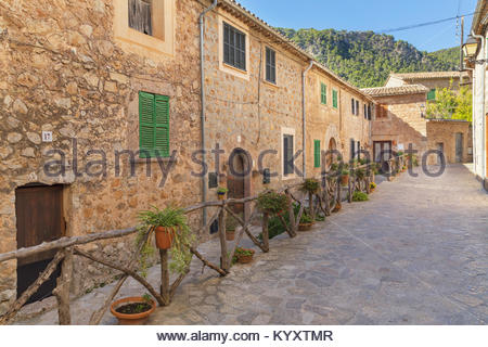 Valldemossa, Mallorca, Balearic Islands, Spain, Europe - Stock Photo