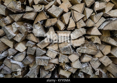 Close-up of firewood - Stock Photo