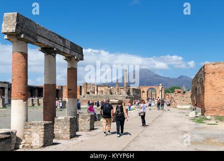 Pompeii, Italy - Stock Photo