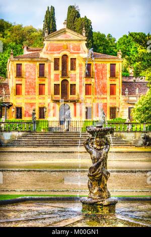 Valsanzibio gardens - Colli Euganei - Padova - Veneto - Italy - Stock Photo