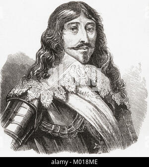 Louis XIII, 1601 – 1643.   King of France from 1610 to 1643 and King of Navarre (as Louis II) from 1610 to 1620. - Stock Photo