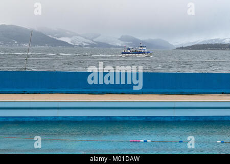 A public outdoor swimming pool which has been closed to - Public salt water swimming pools melbourne ...