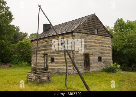 Genesee country village and museum Mumford NY - Stock Photo