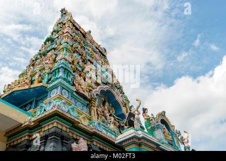 Sri Layan Sithi Vinayagar Temple in Singapore - Stock Photo