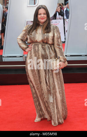 Melissa McCarthy attends the UK Premiere of Spy at Odeon Leicester Square in London.  27th May 2015 © Paul Treadway - Stock Photo