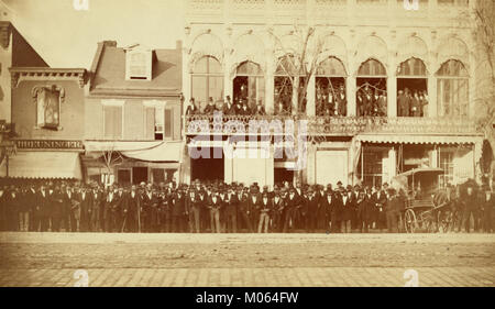 The National Equal Rights Convention, which met Dec. 9th, 1873, Washington, D.C. - Stock Photo