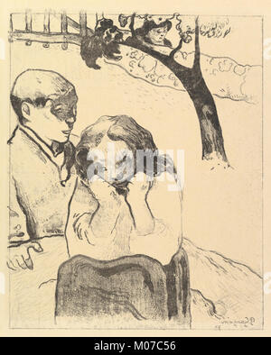 Human Misery, from the Volpini Suite- Dessins lithographiques MET DP825299 - Stock Photo