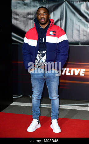Konan attending the World Premiere of Fast & Furious Live, held at the 02, Peninsula Square, London. Picture Date: - Stock Photo