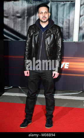 Dynamo attending the World Premiere of Fast & Furious Live, held at the 02, Peninsula Square, London. Picture Date: - Stock Photo