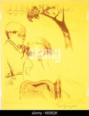 Human Misery, from the Volpini Suite- Dessins lithographiques MET DR318 - Stock Photo