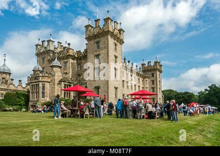 BBC Antiques Roadshow at Floors Castle Kelso Scottish Borders Scotland UK - Stock Photo