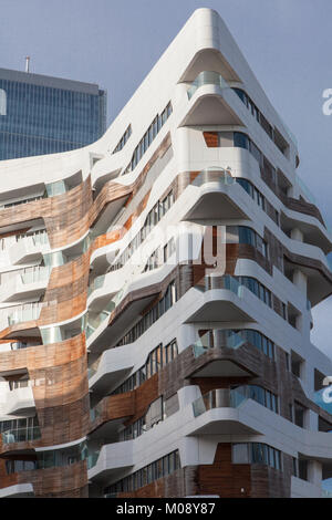 residenze hadid, citylife, milano - Stock Photo