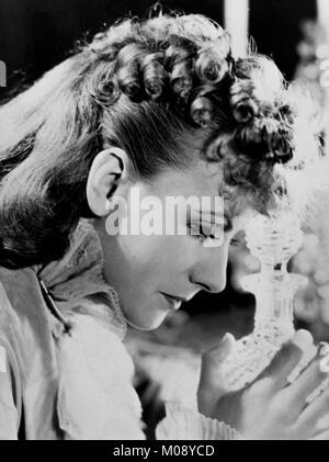 GRETA GARBO Swedish actress in the picture Anna Karenina 1935 - Stock Photo
