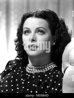 Hedy Lamarr (Hedwig Eva Maria Kiesler: 1914-2000), publicity photograph of the Austrian born American actress taken - Stock Photo