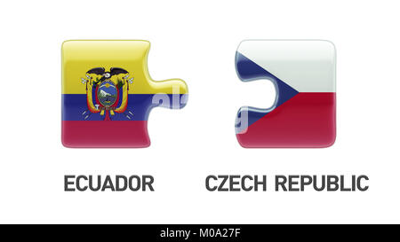 High Resolution Countries Puzzle Concept - Stock Photo