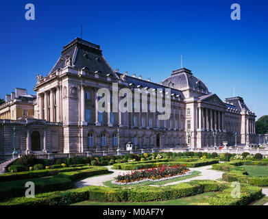 The Royal Palace, Brussels, Belgium. - Stock Photo