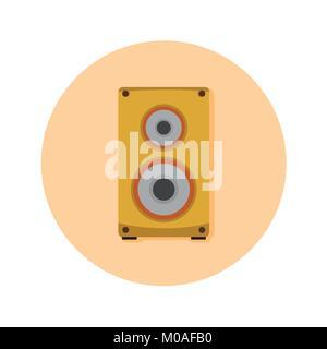 Audio Speaker Studio Vector Illustration Graphic Design - Stock Photo