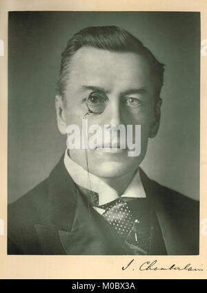 Joseph Chamberlain (1836-1914) - Stock Photo