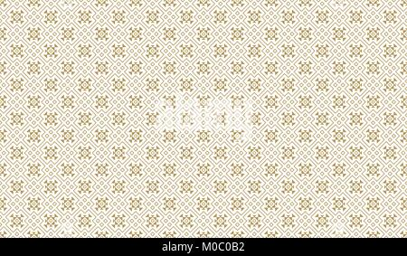 Golden Geometric Pattern 11v4, Increased. Seamless Golden Pattern with Elements of Line, Rhombuses, Triangles and - Stock Photo