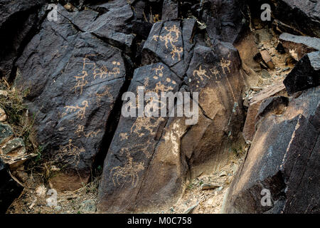 The Mt. Mandela Rock Painting - Stock Photo